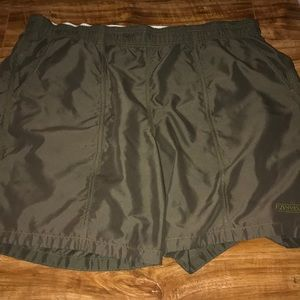 Speedo Men Brown Swim Trunks